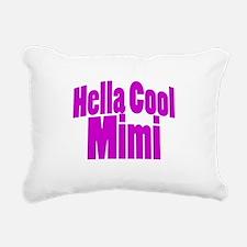 Hella Cool Mimi Rectangular Canvas Pillow