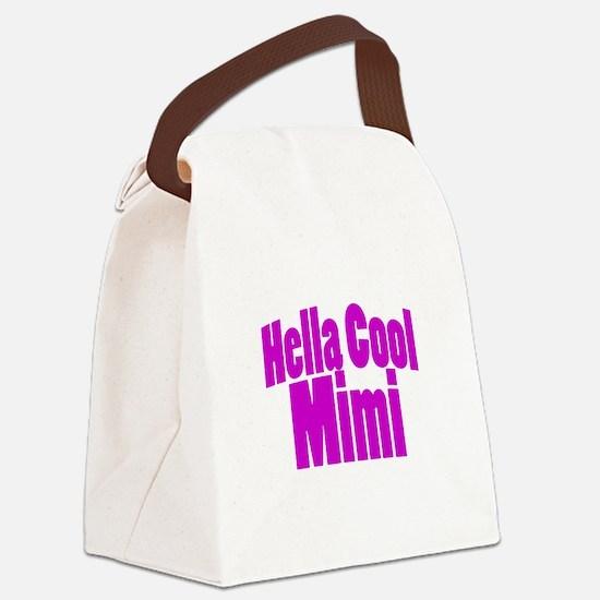 Hella Cool Mimi Canvas Lunch Bag