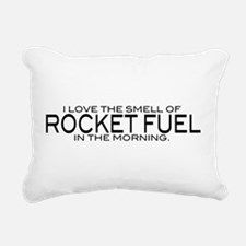 Rocket Fuel Rectangular Canvas Pillow