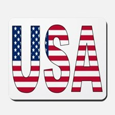USA flag Mousepad