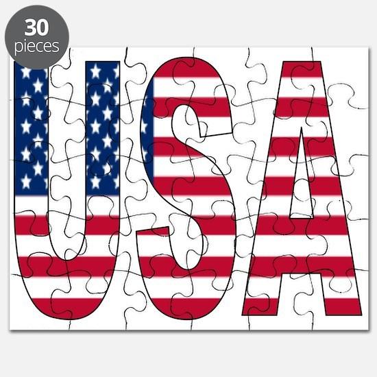 USA flag Puzzle