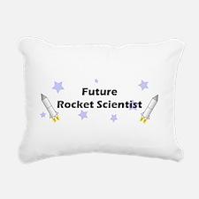 futurerocket.jpg Rectangular Canvas Pillow
