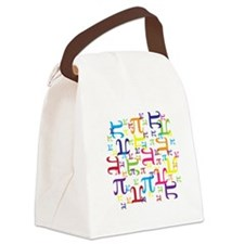 Pieces of Pi Canvas Lunch Bag