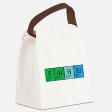 chem_father_alone.png Canvas Lunch Bag