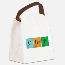 chem_chef.png Canvas Lunch Bag