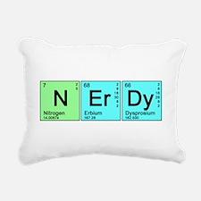 nerdy_color_bk.png Rectangular Canvas Pillow