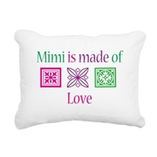 Mimi is made of Love Rectangular Canvas Pillow