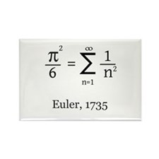 Eulers Formula for Pi Rectangle Magnet