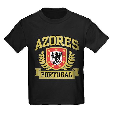 Azores Portugal Kids Dark T-Shirt