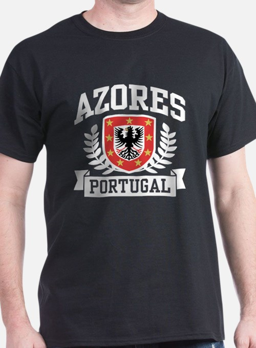 azores t shirts shirts tees custom azores clothing. Black Bedroom Furniture Sets. Home Design Ideas