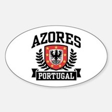 Azores Portugal Sticker (Oval)