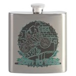 BMX,born to ride. Flask