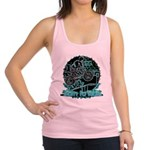 BMX,born to ride. Racerback Tank Top