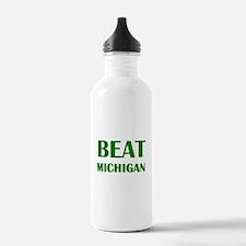 Beat Michigan Water Bottle