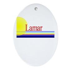 Lamar Oval Ornament