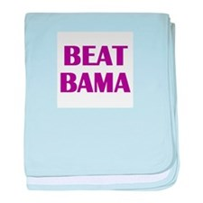Beat Bama baby blanket