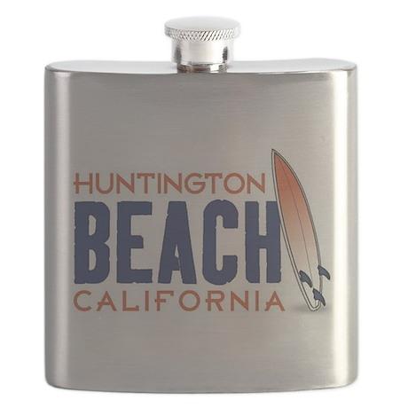 Huntington Beach Flask