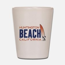 Huntington Beach Shot Glass