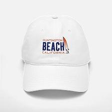 Huntington Beach Baseball Baseball Cap