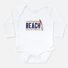 Huntington Beach Long Sleeve Infant Bodysuit