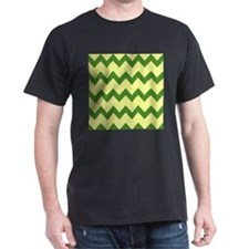 Yellow Green Chevrons T-Shirt