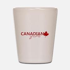 Canadian Girl Shot Glass