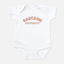 Sarcasm University Onesie