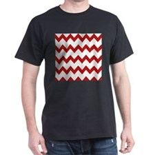 Red White Chevrons T-Shirt