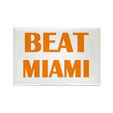 Beat Miami Rectangle Magnet