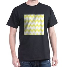 Yellow White Chevrons T-Shirt