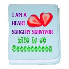HeartSurgerySurvivor baby blanket