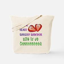 HeartSurgerySurvivor Tote Bag