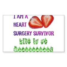 HeartSurgerySurvivor Decal