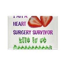 HeartSurgerySurvivor Rectangle Magnet