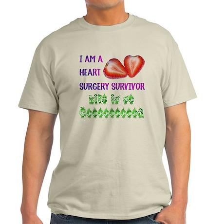 HeartSurgerySurvivor Light T-Shirt
