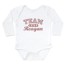 TEAM Reagan Long Sleeve Infant Bodysuit