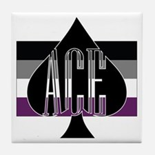 Cute Ace Tile Coaster