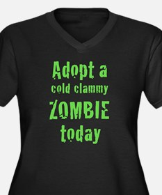 Adopt a cold clammy ZOMBIE today Women's Plus Size