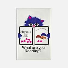 Reading Kitten Rectangle Magnet (10 pack)