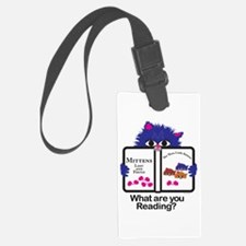 Reading Kitten/Puppy Luggage Tag