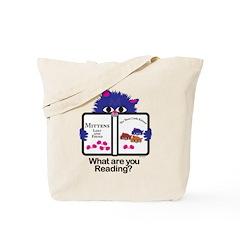 Reading Kitten Tote Bag