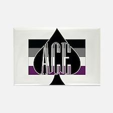 Cute Ace Rectangle Magnet