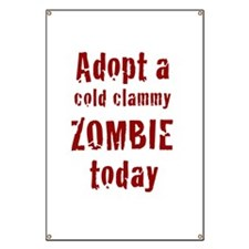 Adopt a cold clammy ZOMBIE today Banner