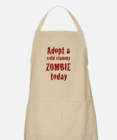 Adopt a cold clammy ZOMBIE today Apron