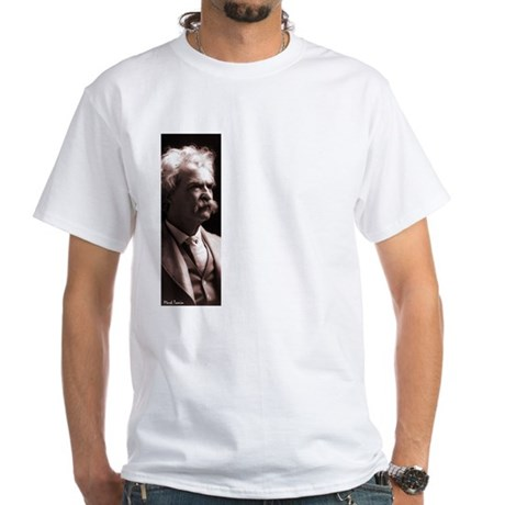 """Twain """"We Are All Mad"""" White T-Shirt"""