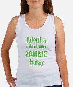 Adopt a cold clammy ZOMBIE today Women's Tank Top
