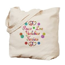 Yorkshire Terriers Tote Bag