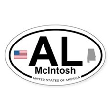 McIntosh Decal