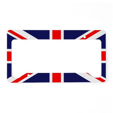 British Flag License Plate Holder