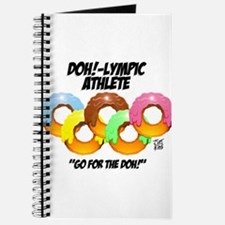 """DOH!-LYMPIC ATHLETE"" Journal"